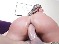 Ariel Everts takes it deep in her ass!